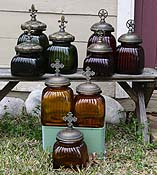 Western Glass Canisters