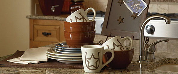 Western Kitchen Dinnerware